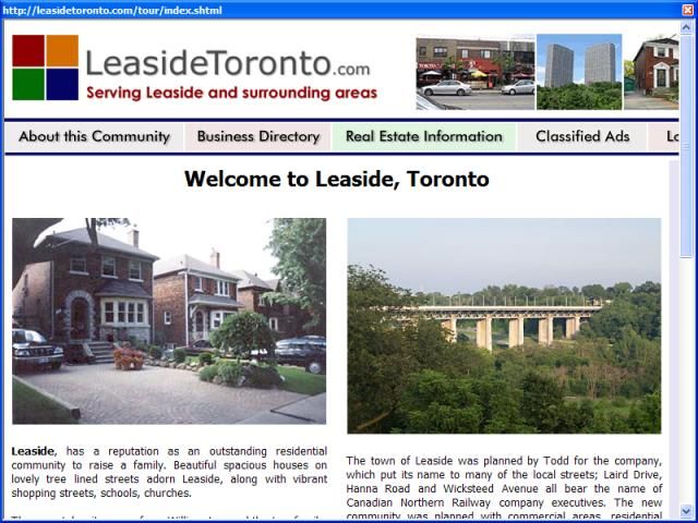 Leaside Toronto Community