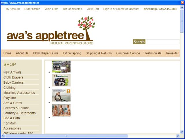 Ava's Appletree - Natural Parenting Store