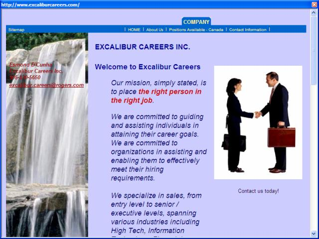 Excalibur Careers Inc.