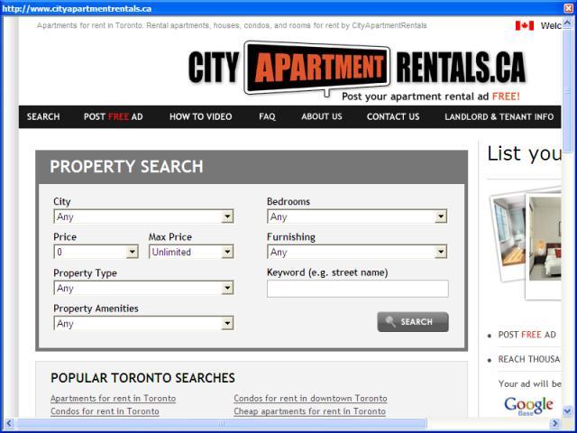 Toronto Apartment Rentals