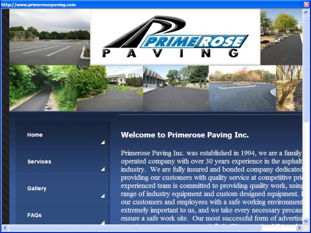 Primerose Paving Inc