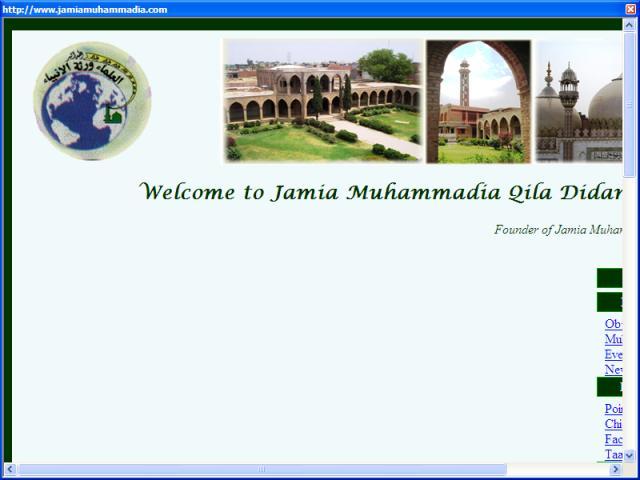 Jamia Muhammadia