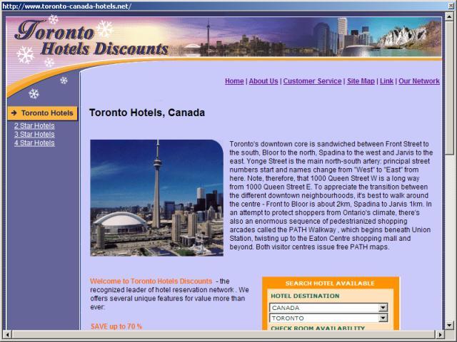 Toronto Hotels Discounts