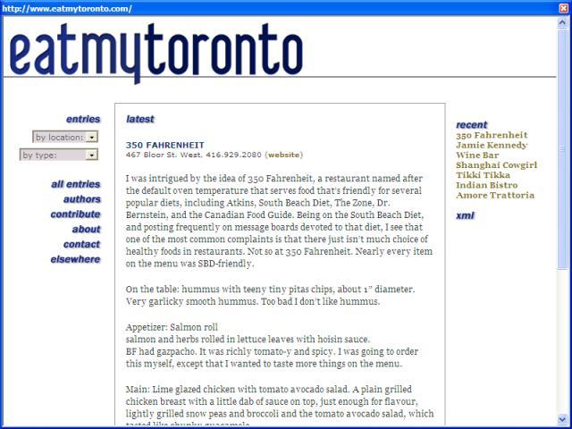 Eat My Toronto