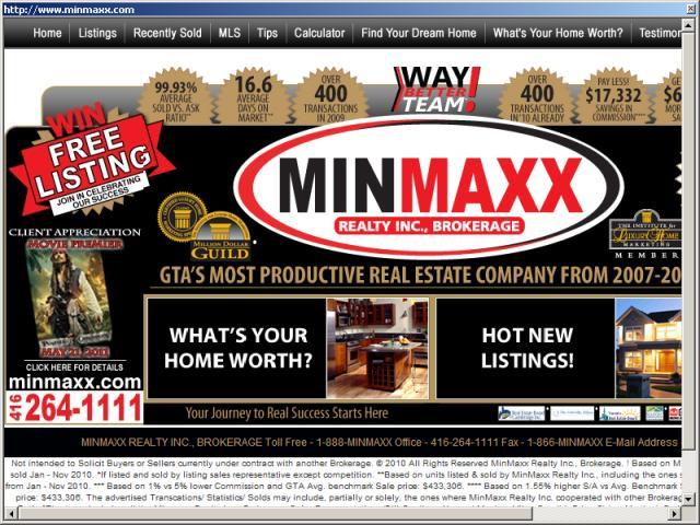 Minmaxx (Minimum Commission & MAximum Results)