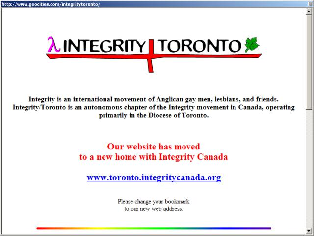 Integrity - Toronto