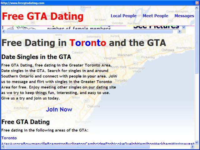 Free GTA Dating