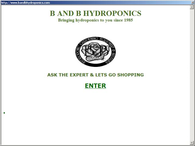 B & B Hydroponics