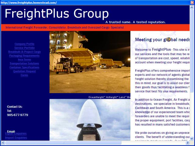 FreightPlus Worldwide Ltd.