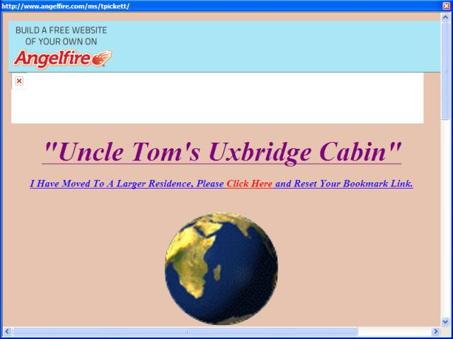 Uncle Tom's Uxbridge Cabin