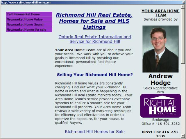 Richmond Hill Real Estate