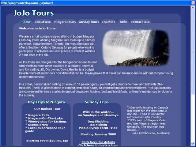 Jojo Tours