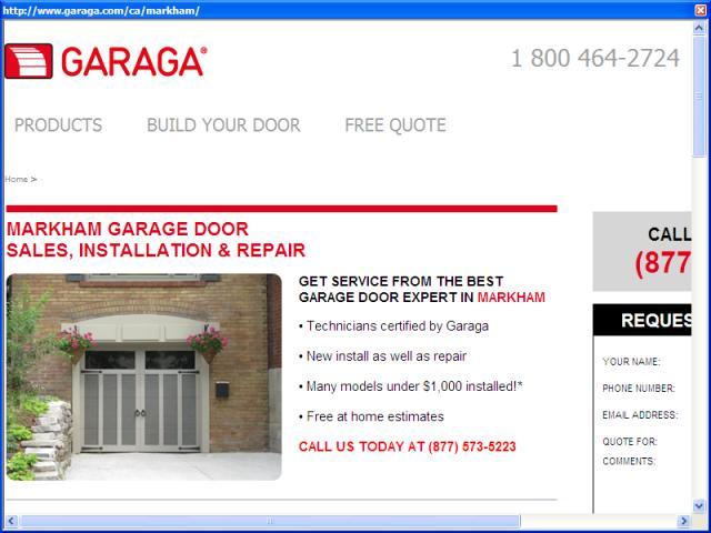Garaga Garage Doors Markham