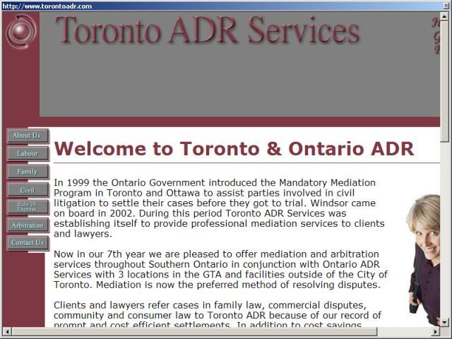 Toronto ADR Services