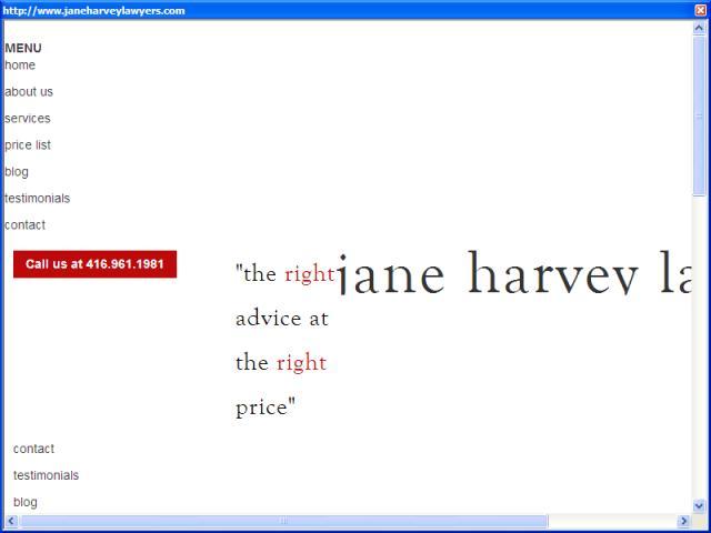 Jane Harvey Associates