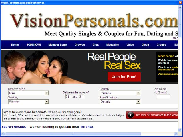 Toronto's exotic massage parlour directory & guide.