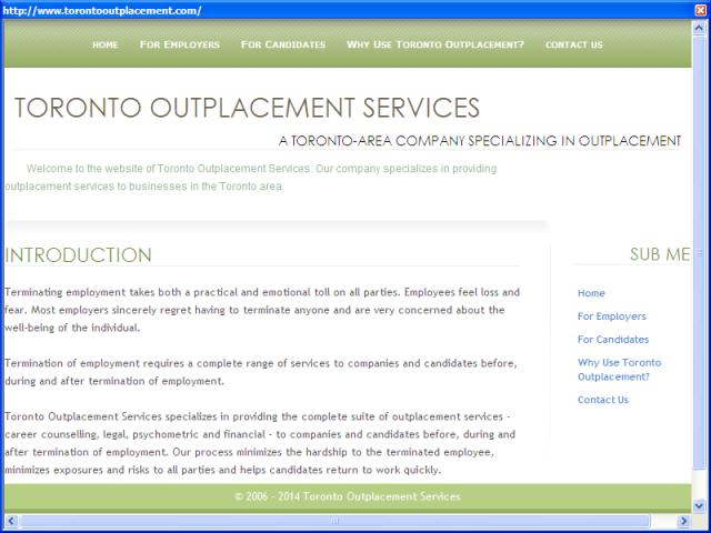 Toronto Outplacement Services