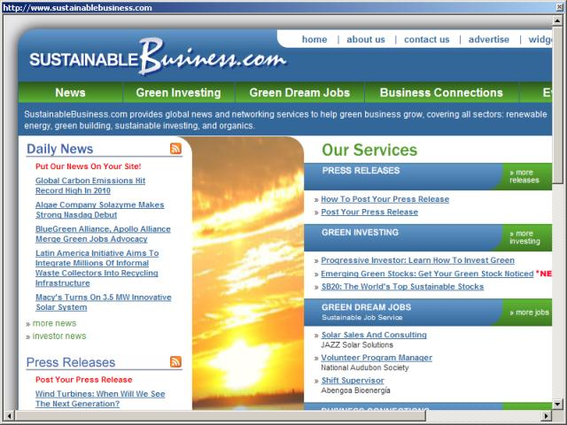 Sustainable Business.com