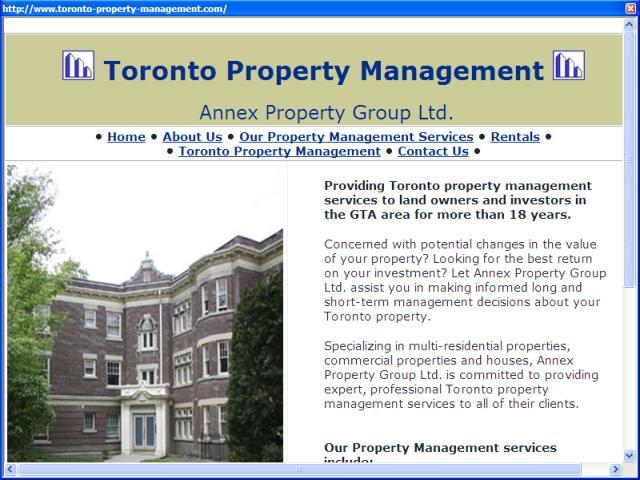 Toronto Property Management