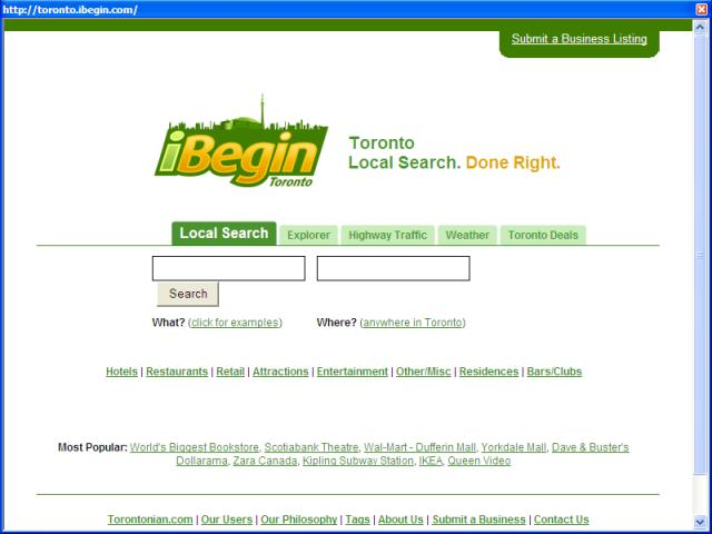 iBegin Toronto