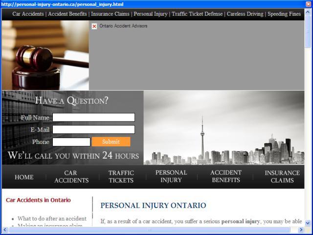 Personal Injury Ontario