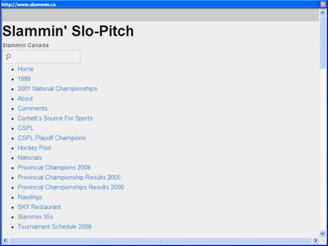 Slammin' Slo-Pitch