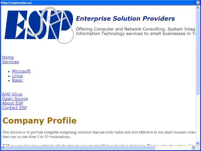 Enterprise Solution Providers