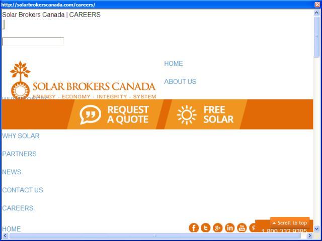 Solar Brokers Canada - Careers