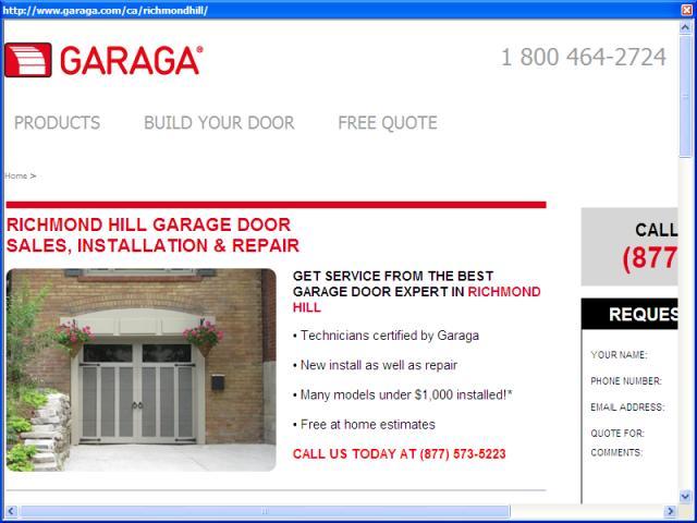 Garaga Garage Doors Richmond Hill