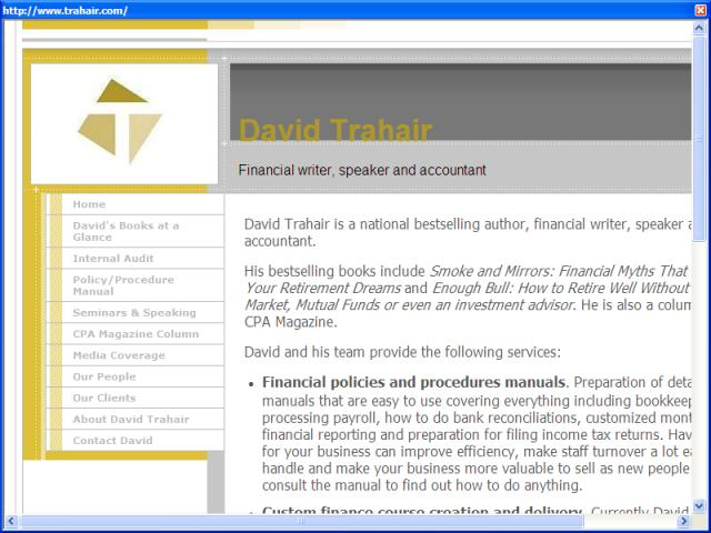 David Trahair Chartered Accountant