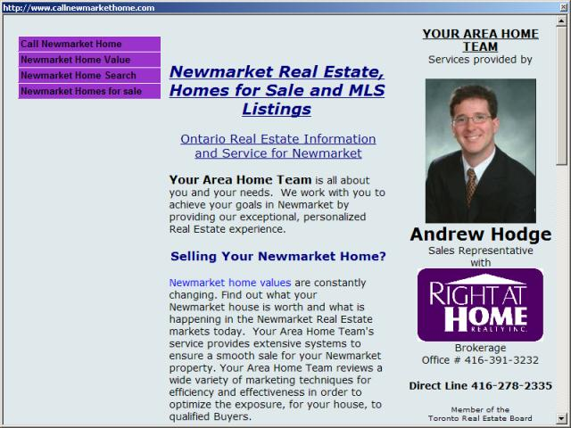 Newmarket Ontario Real Estate