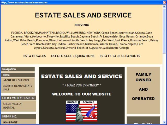 Estate Sales and Service