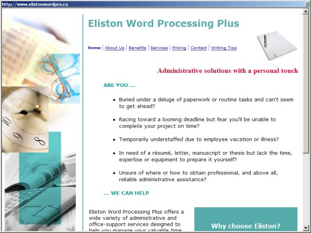 Eliston Word Processing Plus
