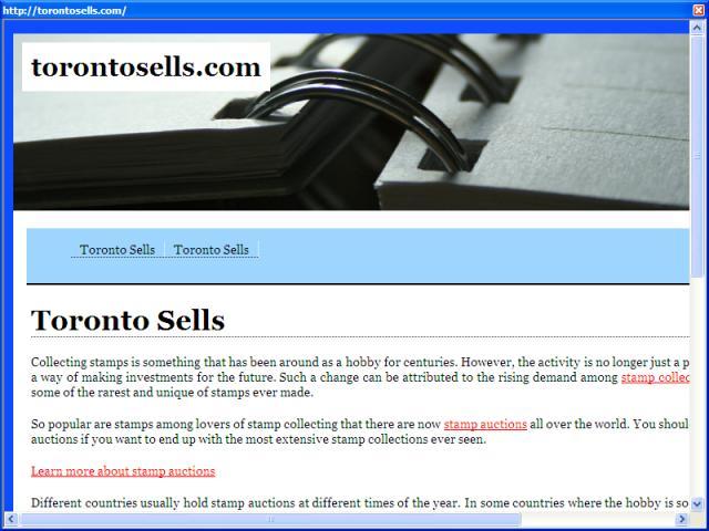Toronto Sells
