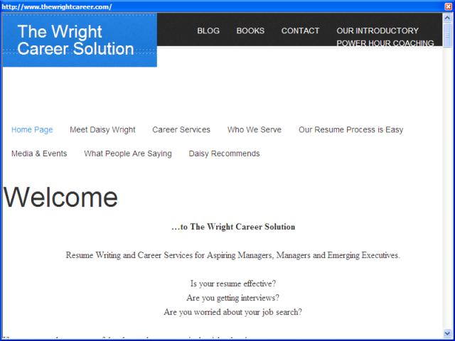 The Wright Career Solution