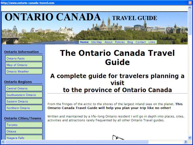 Ontario Canada Travel Guide