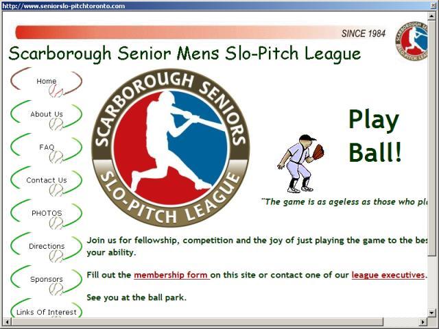Scarborough Seniors Slo-Pitch League