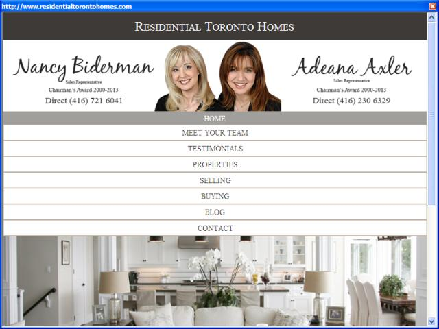Residential Toronto Homes
