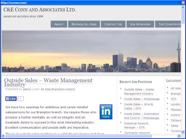 C&E Conn and Associates Ltd.