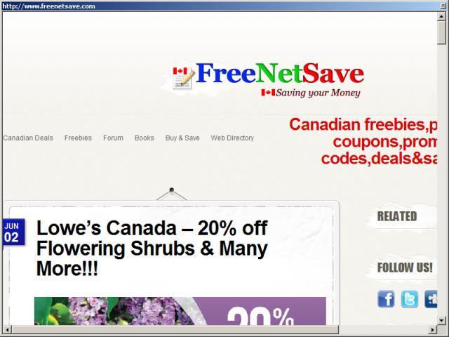 FreeNetSave