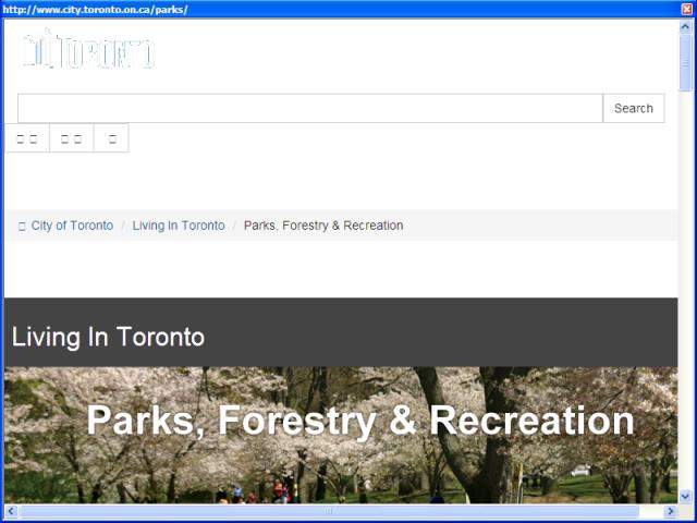 Toronto Parks and Recreation