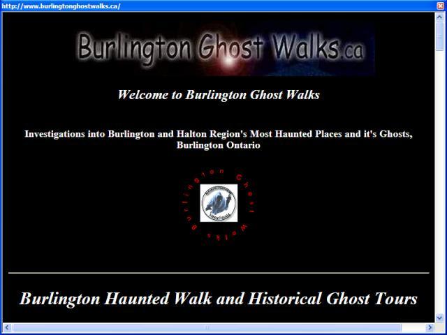Burlington Ghost Walks