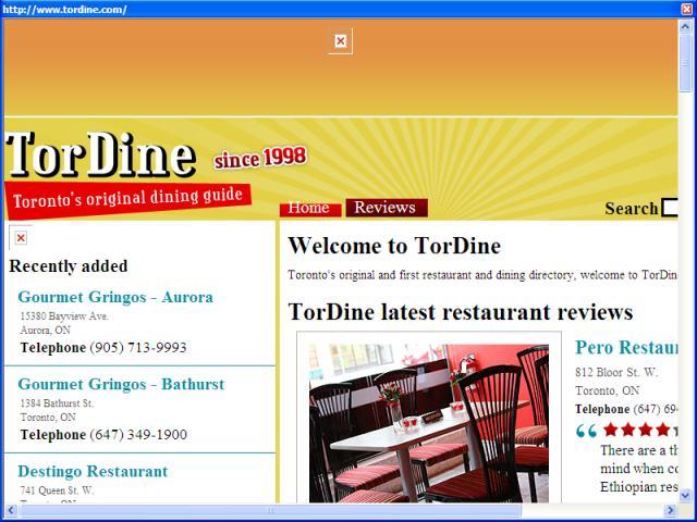 TorDine
