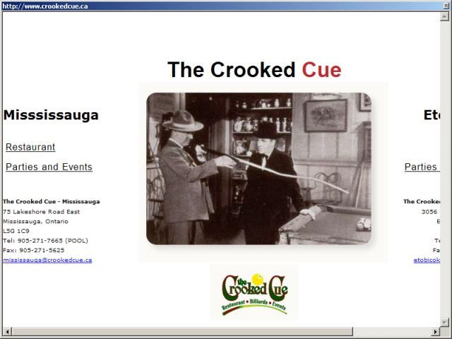 The Crooked Cue