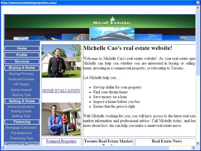 Michelle Cao - Coldwell Banker Case