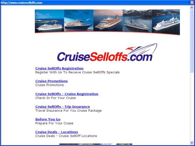 Cruise Sellofs