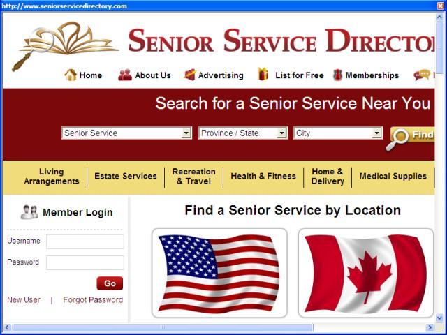 A Senior Service Directory for Toronto