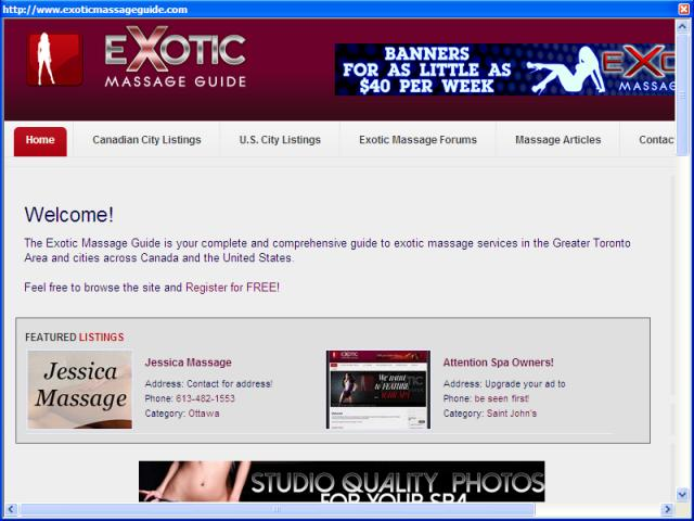 Exotic Massage Guide