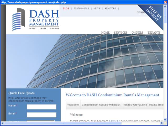 Dash Property Management Toronto